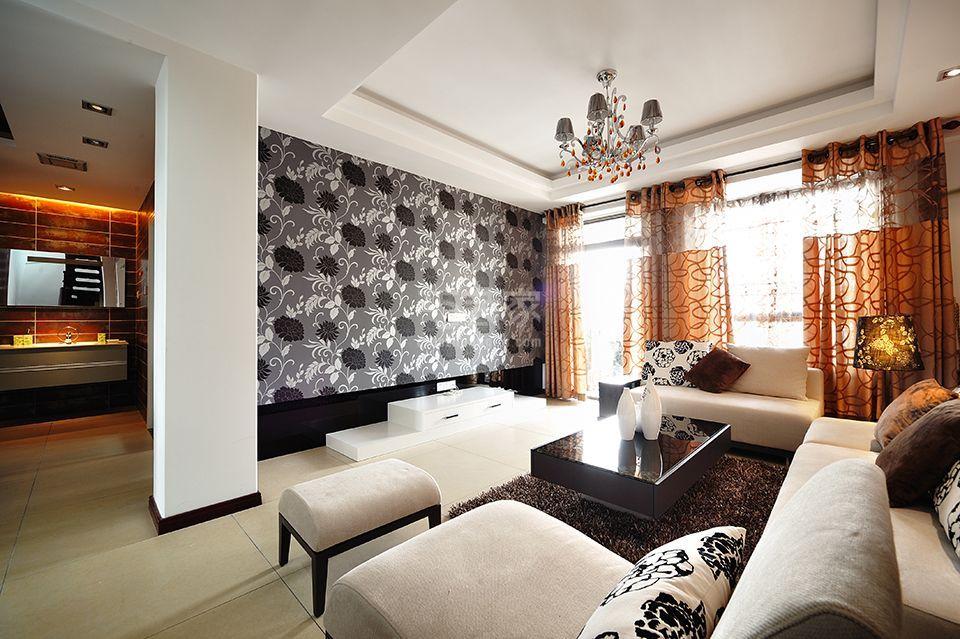 龙城名苑200平米现代设计风格