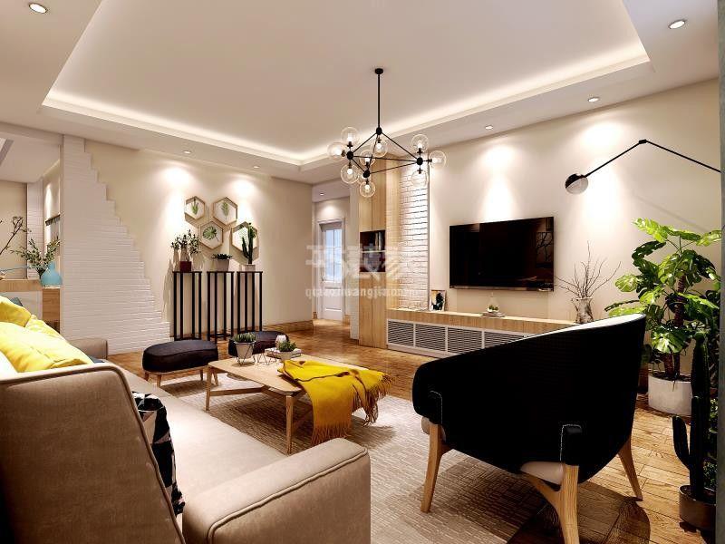 锦园小区142平东南亚风格装修设计方案