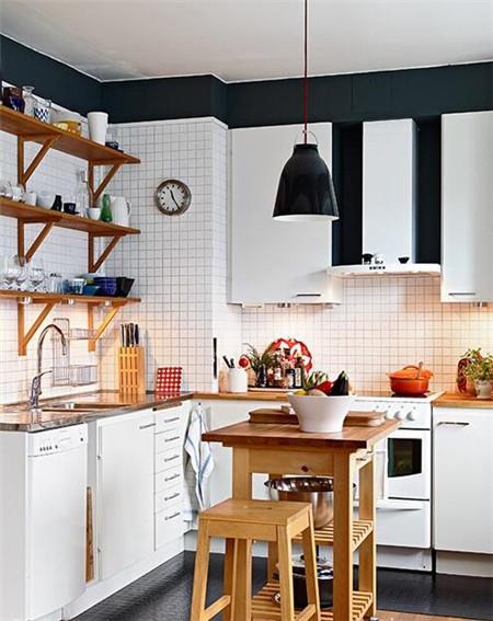 比如超小中岛台&移动式吧台&迷你小餐桌&厨房移动